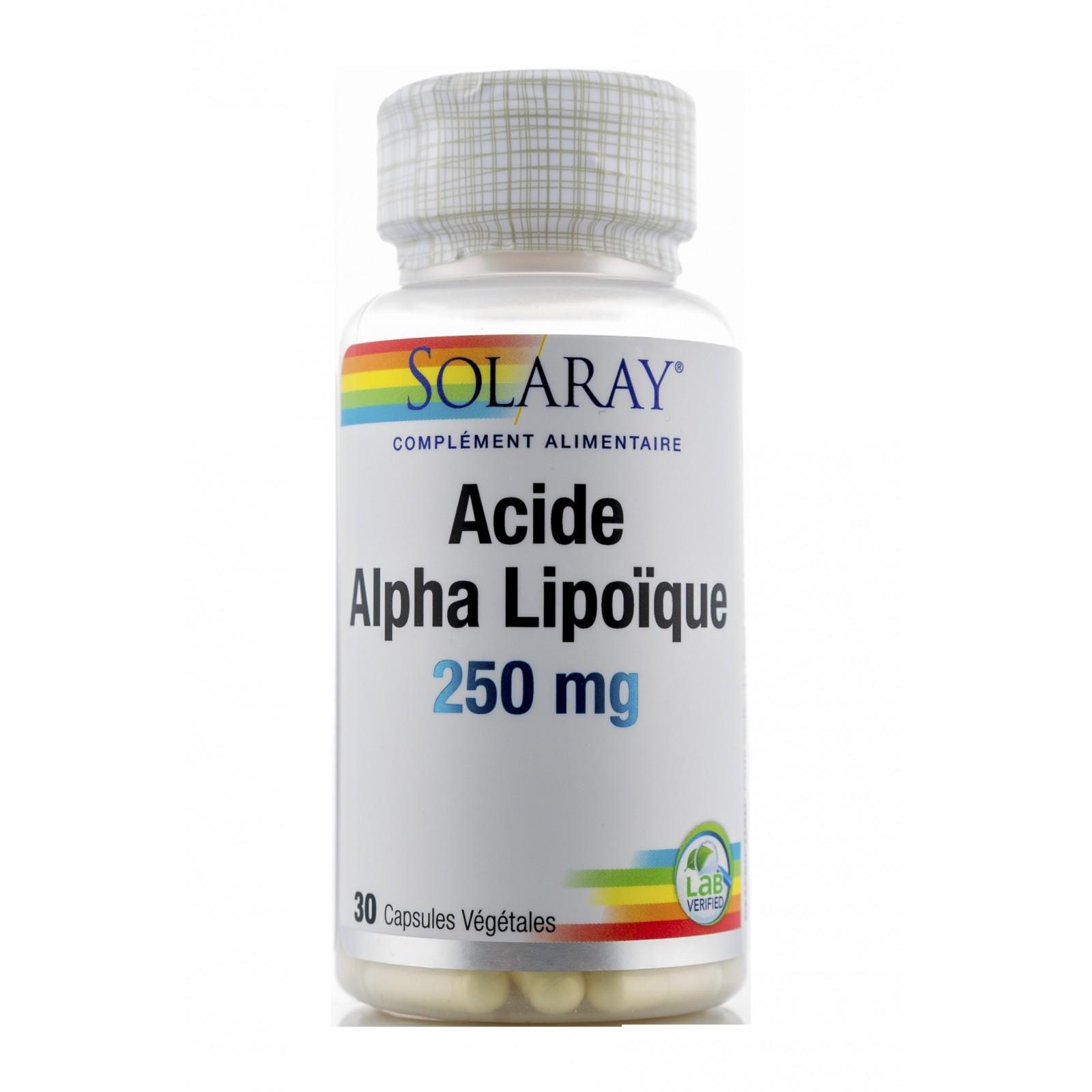 Alpha lipoïque : Un acide avantageux ?